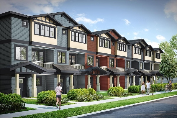 River Townhomes + Presentation Centre